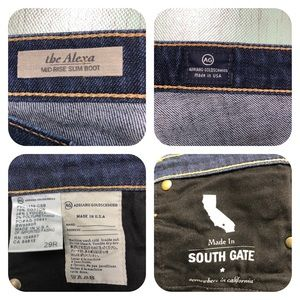 Ag Adriano Goldschmied Jeans - AG Adriano Goldschmied The Alexa Jeans